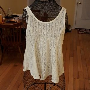 Candie's Women's Lace Tank Top Like New